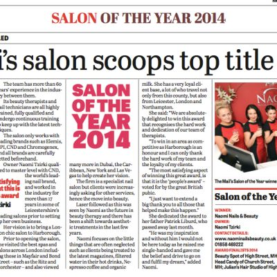 Salon of the Year Harborough